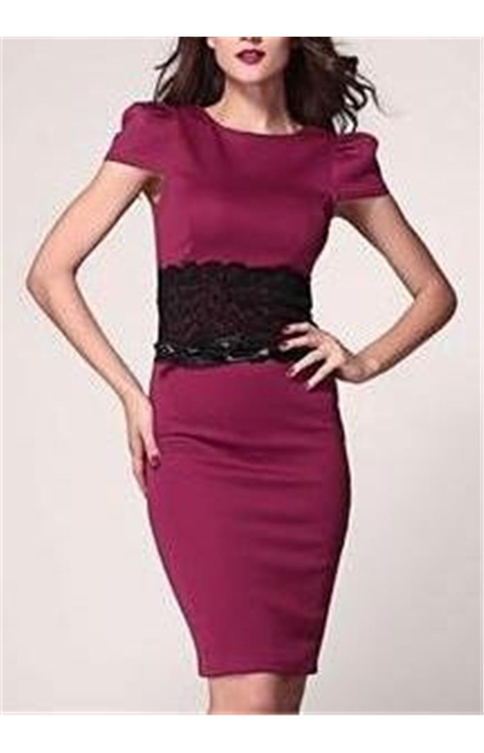 Elegantiška suknelė su dirželiu