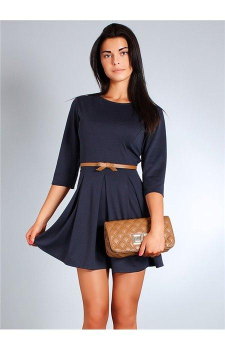 Suknelė su klostėmis