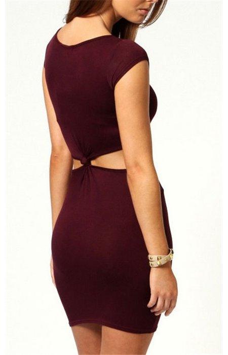 Mini suknelė atviru pilvu