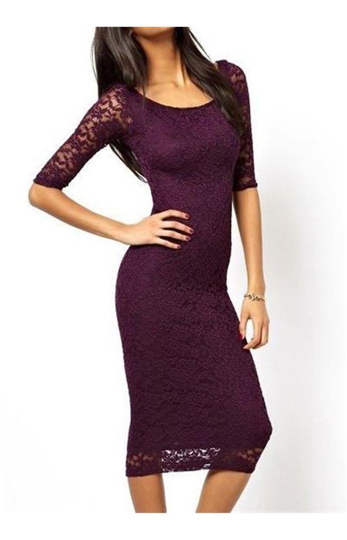 Elegantiška gipiūrinė suknelė