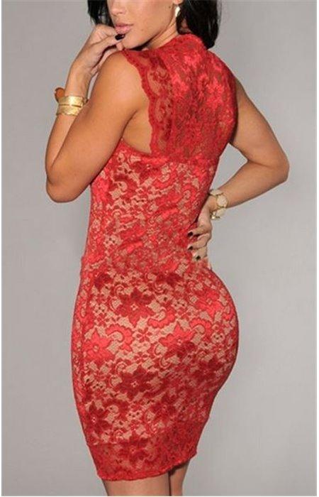 Seksuali gipiūrinė suknelė