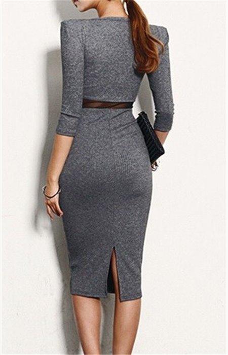 Elegantiška, tampri suknelė
