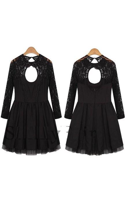 Elegantiška suknelė atvira nugara