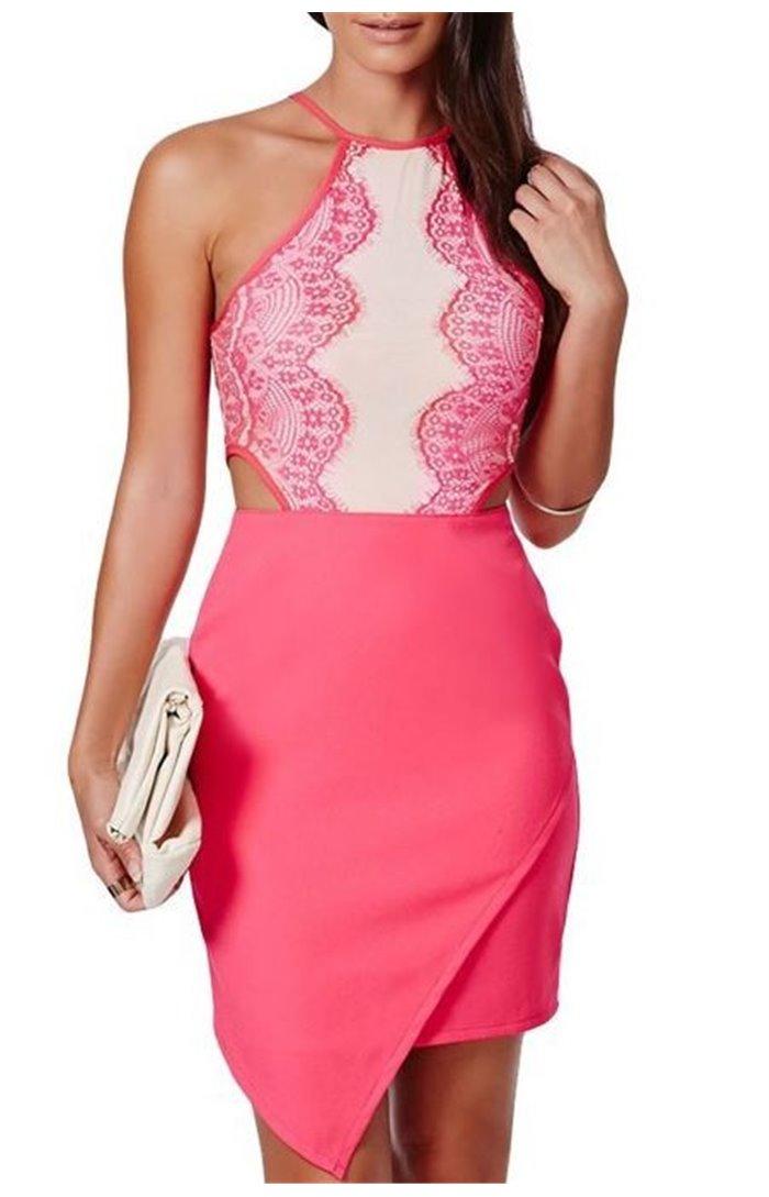 Suknelė atvirais šonais