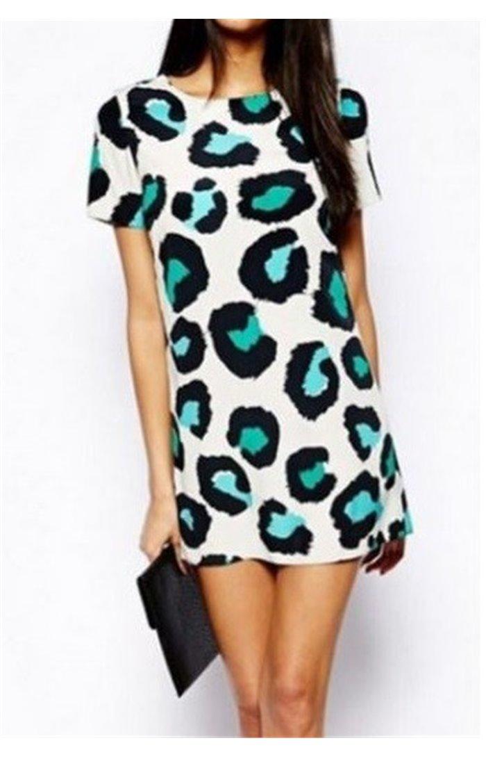 Šifoninė laisvo stiliaus suknelė