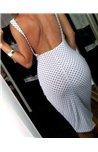 Suknelė su žirniukais