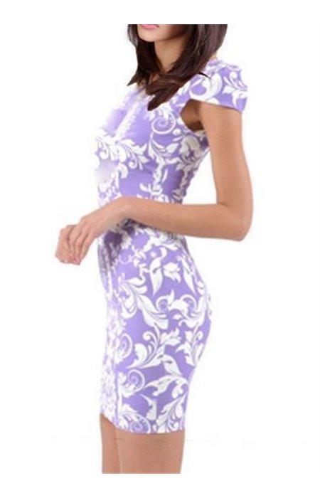 Raštuota suknelė