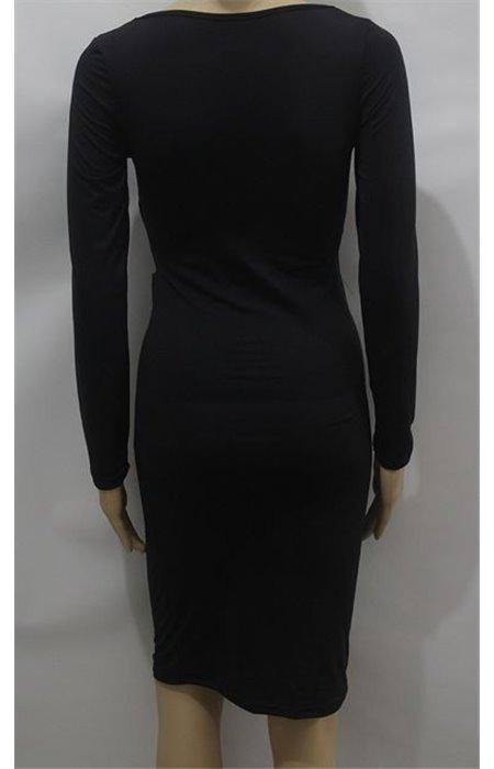 Suknelė V formos iškirpte