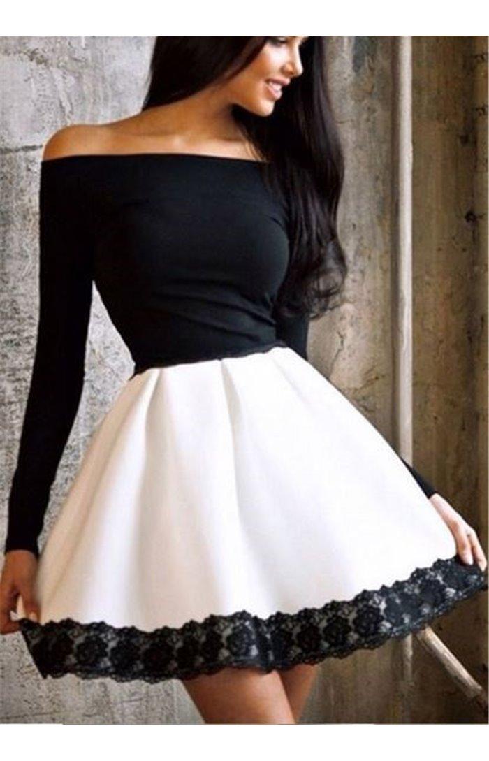 Suknelė atvirais pečiais