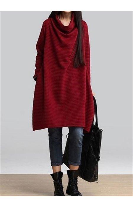 Išskirtinio dizaino suknelė-tunika