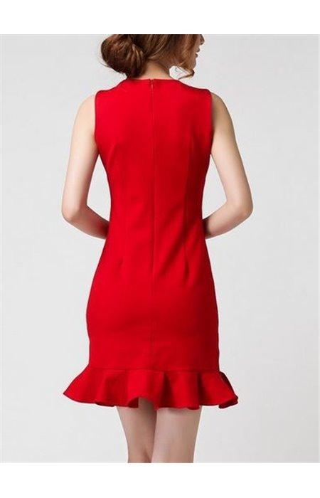 Suknelė klostuota apačia