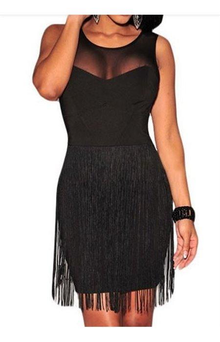 Seksuali suknelė su kutais