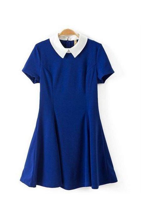 Suknelė su Apykakle