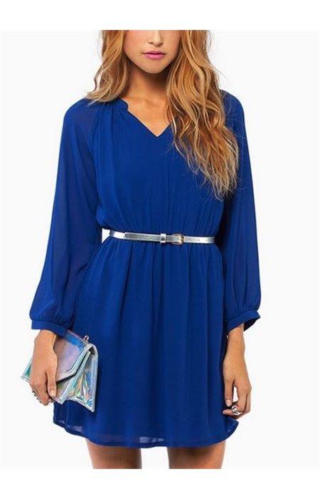 Suknelė su suraukiamu liemeniu