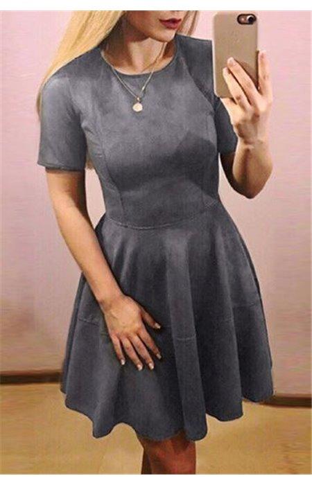 Zomšinė Suknelė