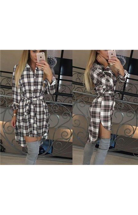 Languoti Marškiniai-Suknelė