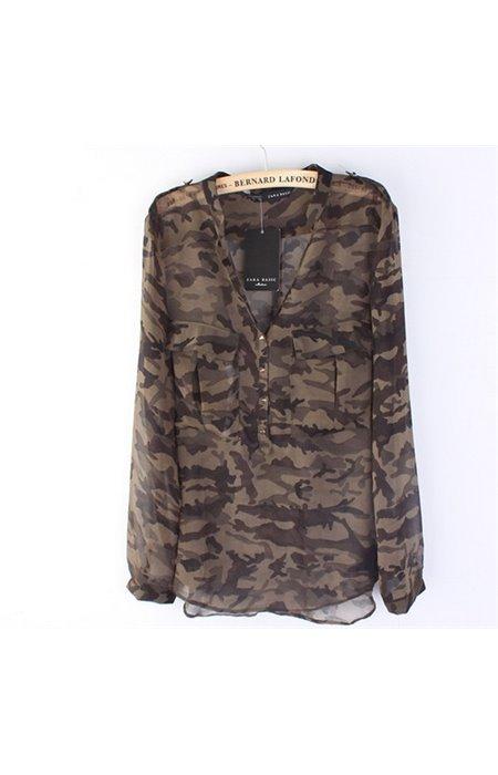 Kamufliažiniai marškiniai