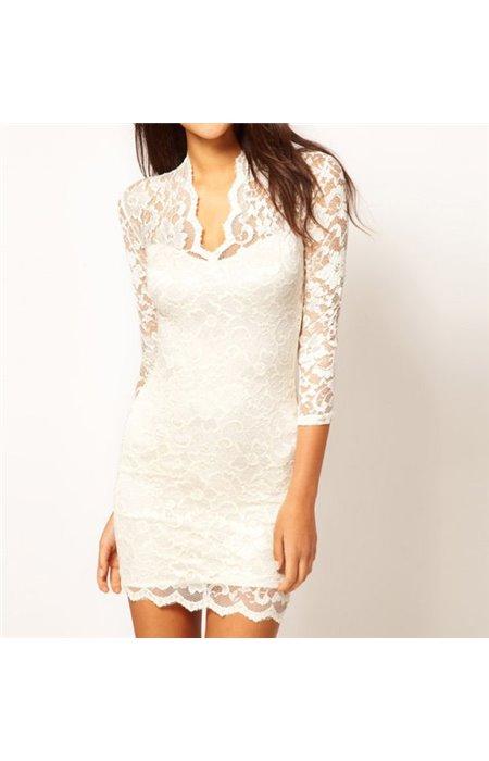 Gipiūrinė seksuali suknelė