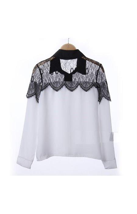 Marškiniai su gipiūru