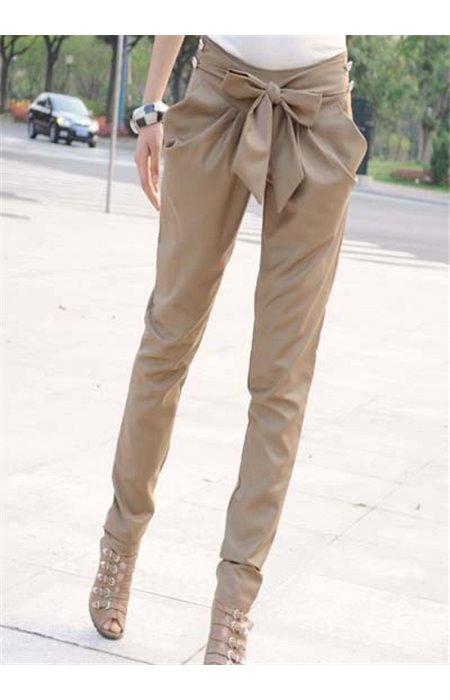 Kelnės su kaspinėliu